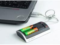 Зарядное устройство для аккумуляторов АА и ААА, работающее от USB