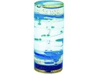 Жидкостная фигура для релаксации «Спираль», прозрачная/голубая