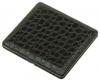 Портсигар S.Quire, сталь+искусственная кожа, черный цвет с рисунком, 100*95*14мм