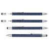 Ручка шариковая Construction, мультиинструмент, синяя