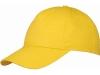 """Бейсболка """"Memphis"""" 5-ти панельная жёлтый"""