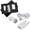 """Набор """"USB 3 в 1"""": зарядное устройство от сети,от автомобильного прикуривателя и провод-адаптер для iPhone и iPad"""