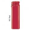 Зажигалки пьезо FlameClub P-01, HC Red, красные