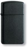 Зажигалка узкая BLACK MATTE SLIM